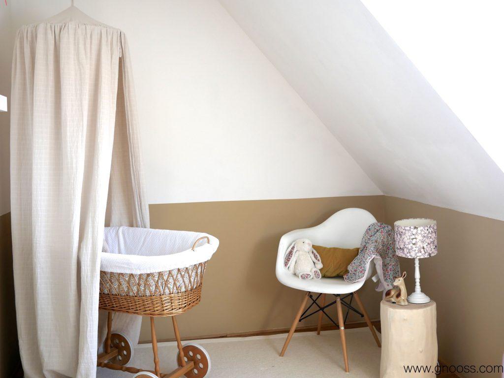 Un nid pour bébé - Chambre vintage douceur