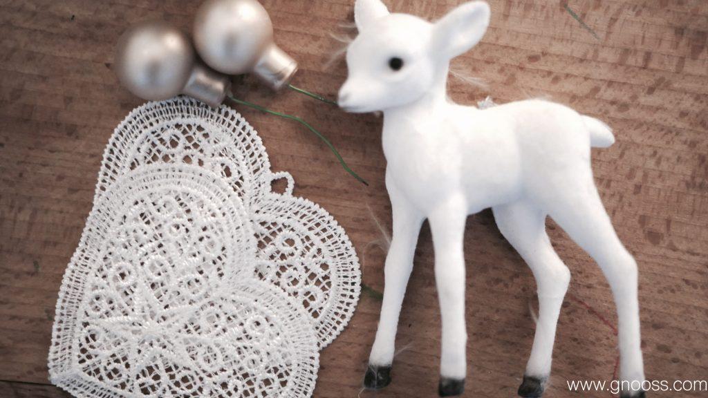 DIY Couronne de l'Avent Noël GNOOSS