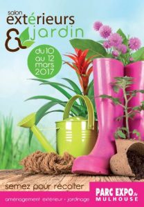 Outdoor Design: un jardin éphémère au Salon Extérieurs&Jardin Mulhouse