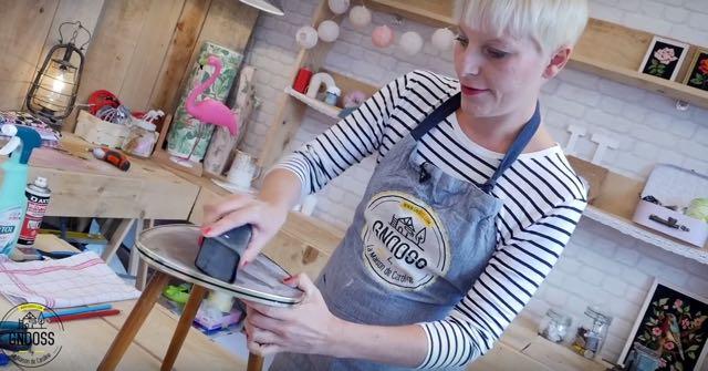 DIY WAX table vintage preparation gnooss
