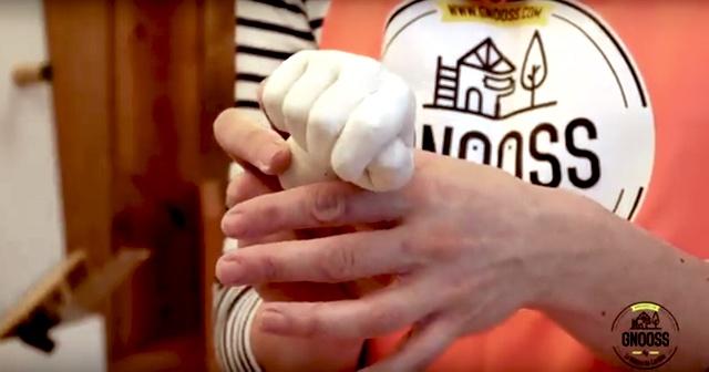 haute couture original nouvelle collection DIY Moulage de main en plâtre - GNOOSS