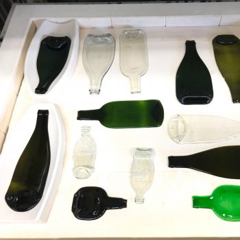 bouteilles vin Alsace up-cycling boutique Gnooss